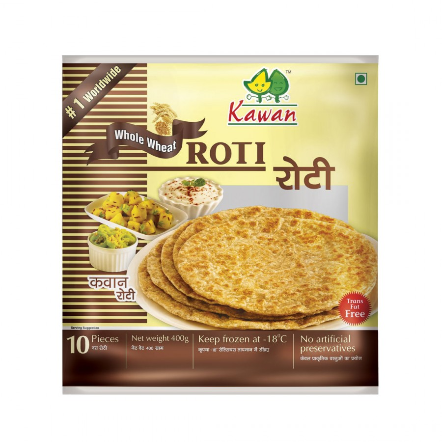 Roti Paratha Kawan Kawan Whole Wheat Roti